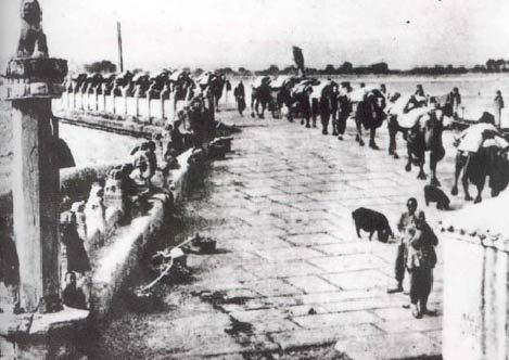 1937年7月盧溝橋事變發生後,中日兩國的軍事衝突由局部衝突進入全面戰爭狀態。圖/資料照片