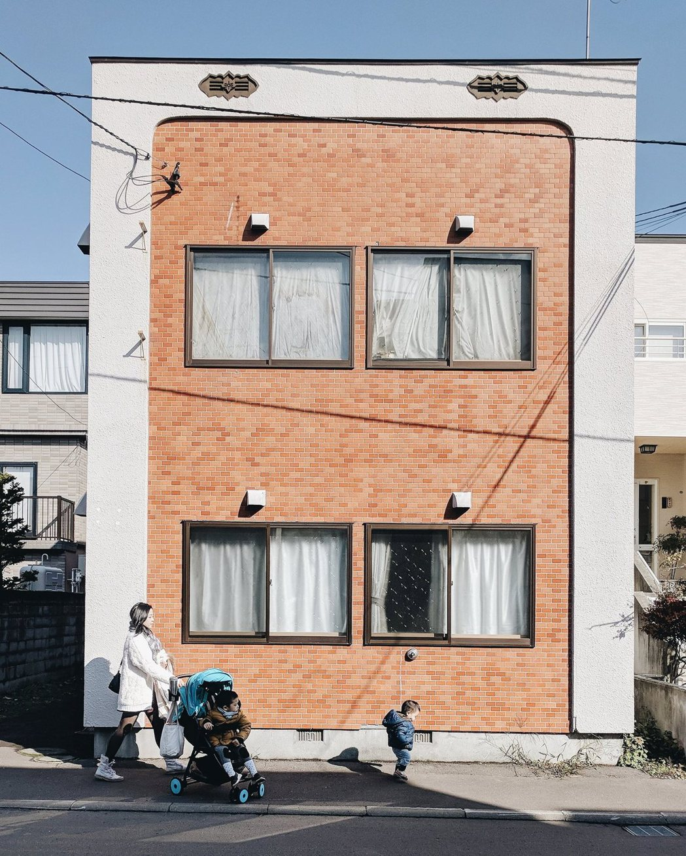維尼與家人在北海道札幌。 圖/李維尼攝影