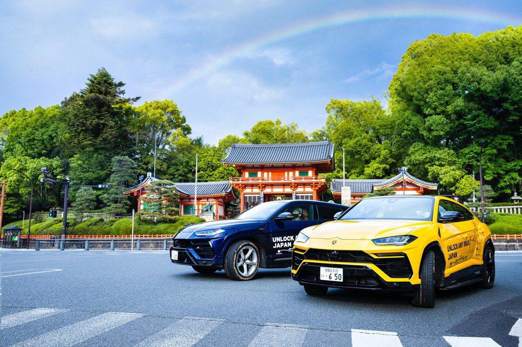 京都八坂神社。 圖/Lamborghini提供