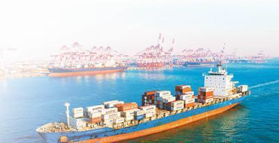 因進口中國防疫防護用品的棉紡織品進口大增,中國成英國最大貿易夥伴。圖源:大陸央廣網