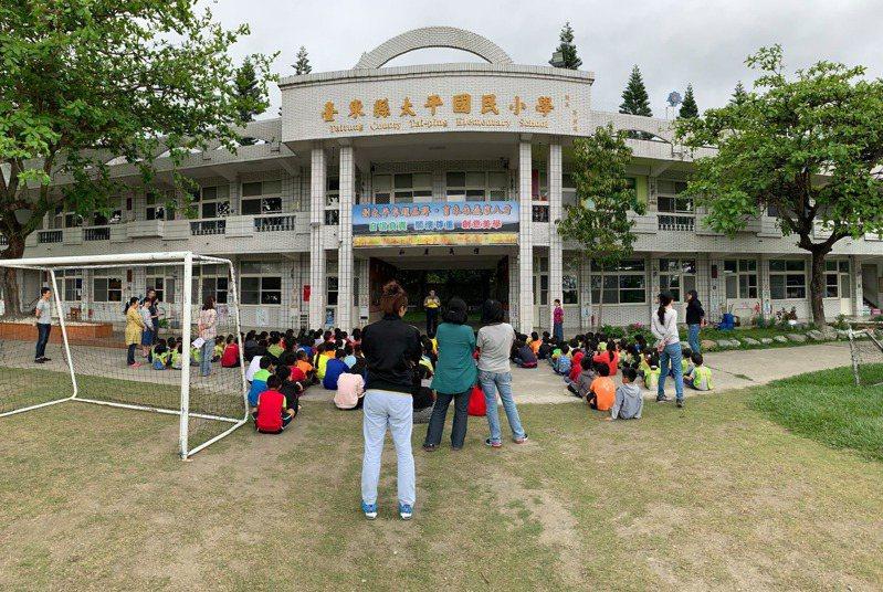 台東縣太平國小是縣內柔道運動的搖籃,也是出總統教育獎最多的學校,7年內已有3位學生獲得殊榮肯定。圖/太平國小提供