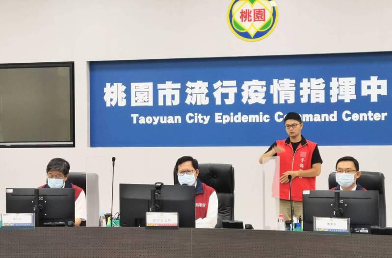 桃市府將加碼防疫補償金適用族群,警消環衛人員入列。圖/市府提供