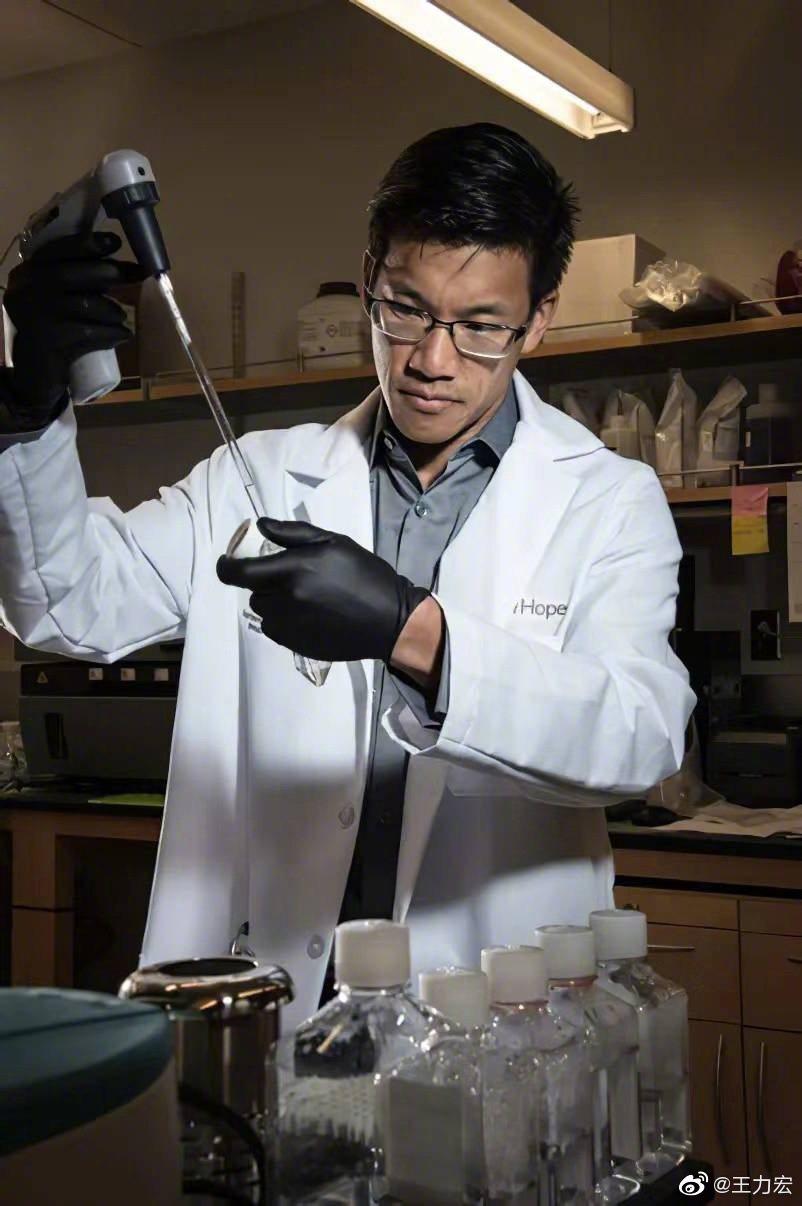 王力宏的大哥是兒科血液病科專家兼腫瘤科專家。圖/摘自微博