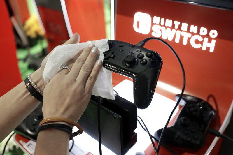 任天堂計劃9或10月推出升級版Switch。美聯社