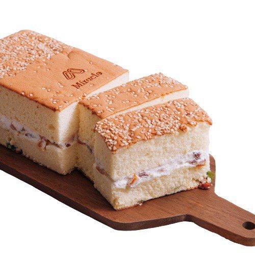 米樂客招牌鹹蛋糕,蝦皮購物活動優惠價330元。圖/蝦皮購物提供