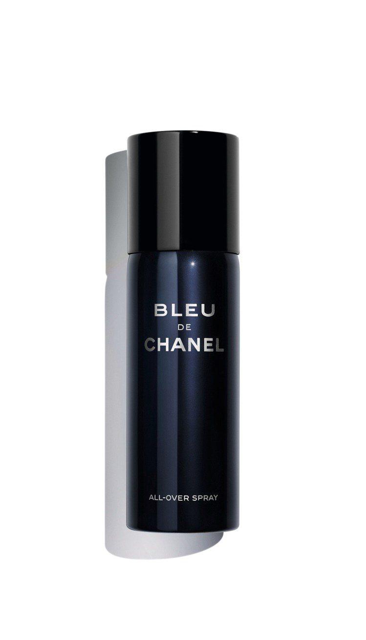 香奈兒藍色男性清新香氛噴霧150ml/2,800元。圖/香奈兒提供