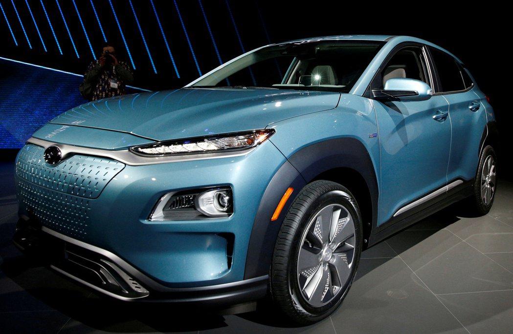 現代汽車集團據悉將減少產品陣容中的燃油車款 ,以釋出資源投資電動車。圖為現代的電...