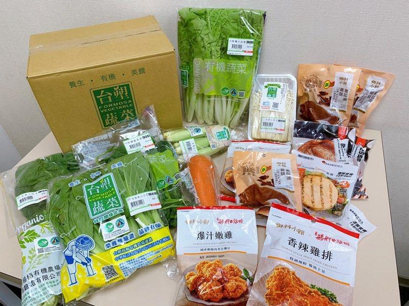 7-ELEVEN即日起於i預購獨家推出超過10款「蔬果箱」,「御料小館」也將推出全新配菜。圖/7-ELEVEN提供