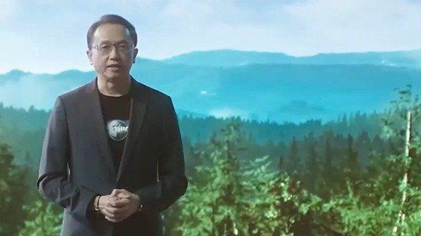 宏碁董事長陳俊聖昨天主持next@acer全球線上發表會。宏碁/提供