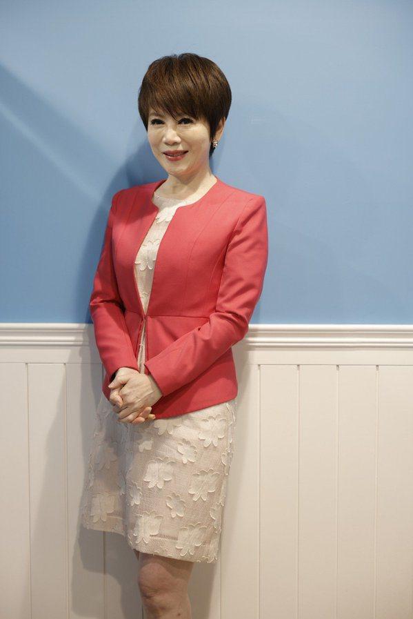 陳雅琳55歲,看來嬌小,但身高有164,外型起來一點也不顯老。 圖/本報資料照