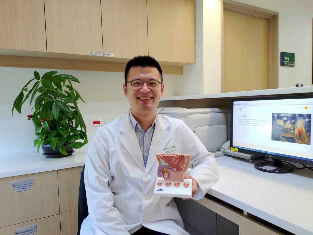 土城醫院泌尿外科主治醫師李威昌表示,攝護腺肥大是中年男性常碰到的問題,若影響生活...
