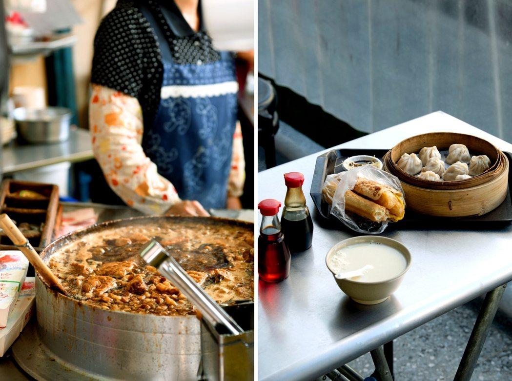 台灣小吃是最療癒的日常風景之一。  圖/時報出版提供