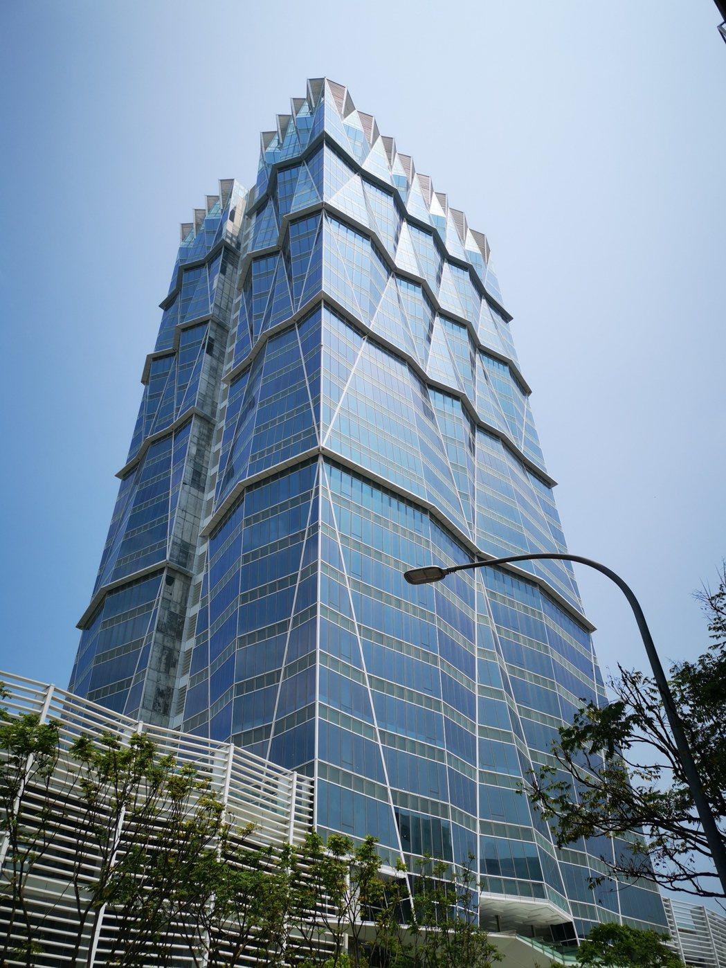 長虹建設位於台北市內湖的「長虹雲端科技大樓」威剛買下部分樓層。 信義全球資產公司...