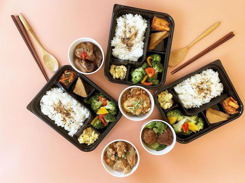 台南大飯店-小資百元餐盒(午餐限量);圖片來源/台南大飯店提供