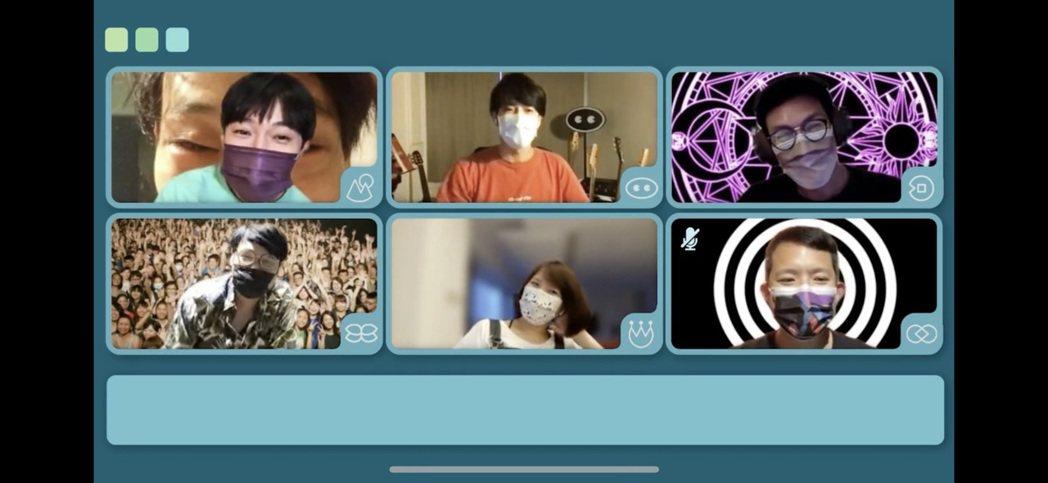魚丁糸(蘇打綠)透過視訊宣布5月30日演唱會正式取消。圖/摘自IG
