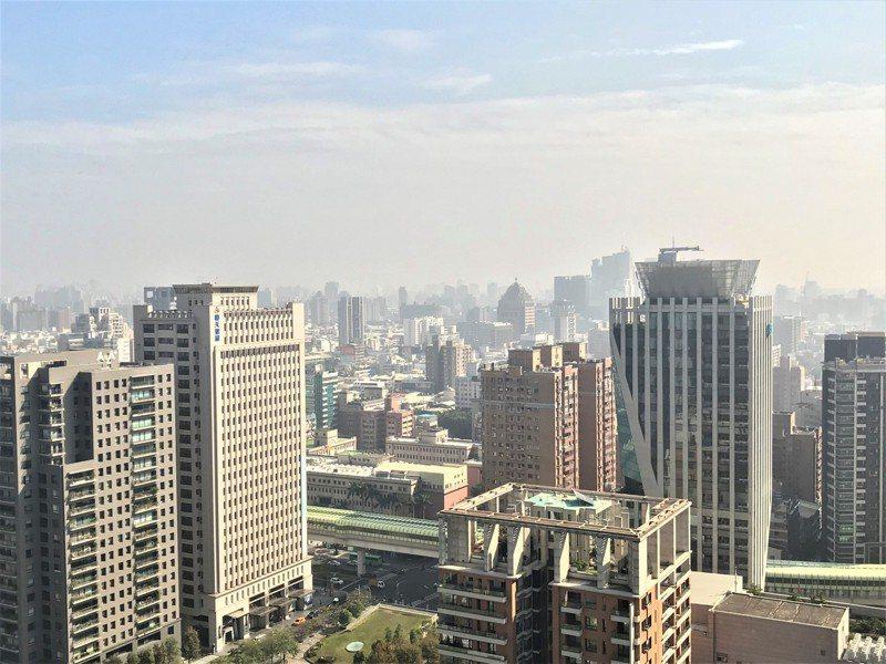 圖為房市示意圖。記者游智文/攝影