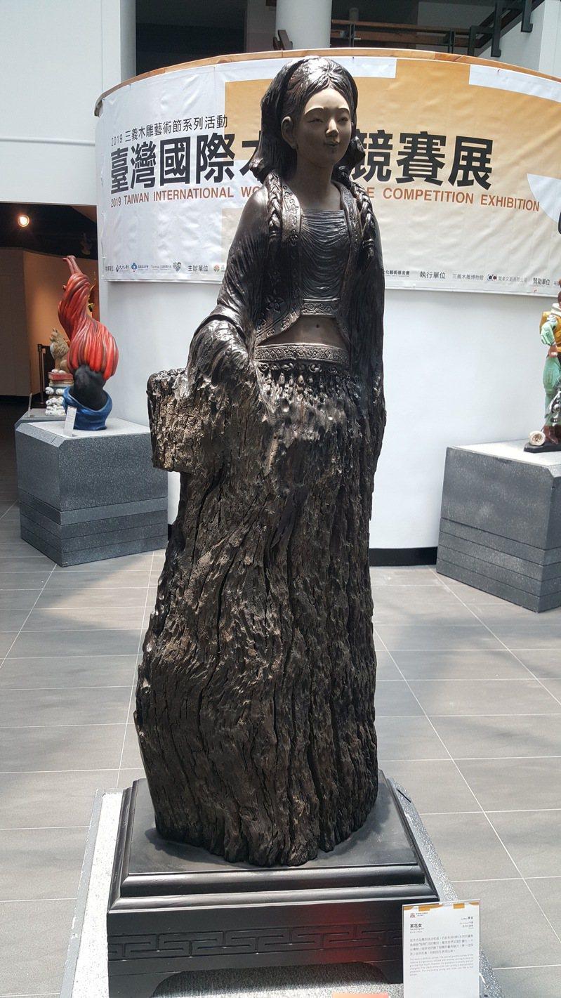三義木雕博物館從2008年迄今辦理14屆台灣國際木雕競賽。本報資料照片