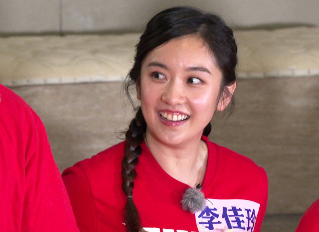 李佳玲是甜美主播代表。圖/台視提供