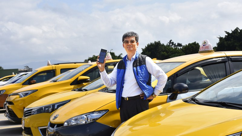 俗稱55688、有2.2萬輛的車隊龍頭台灣大車隊董事長林村田。圖/業者提供