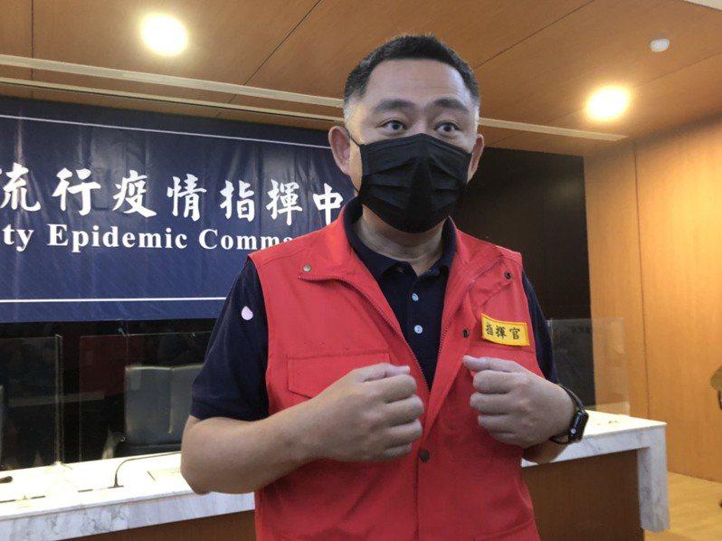 金門縣長楊鎮浯表示,除了在松山機場設快篩站,希望中南部機場也比照辦理。記者蔡家蓁/攝影