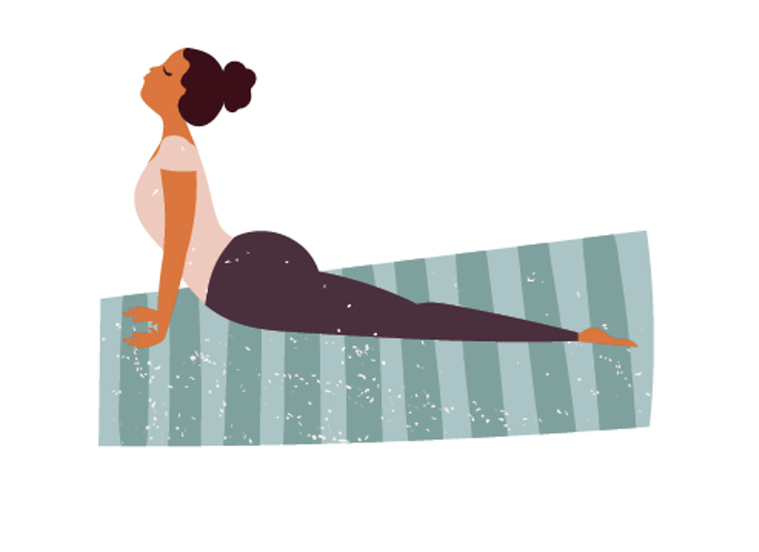染疫恢復後最好從低強度運動開始,例如散步、瑜伽、輕鬆騎單車或游泳。圖/123RF