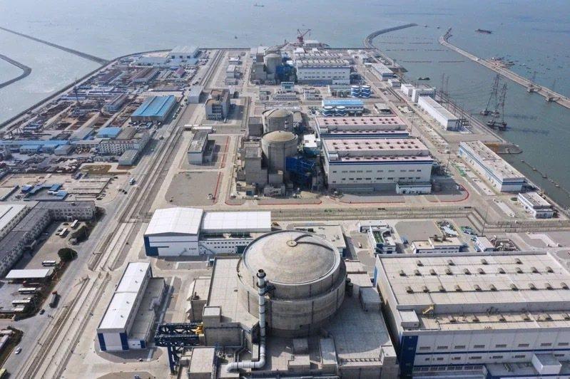 大陸南方多地近期出現供電緊張情況。圖為中核集團福清核電廠。新華社