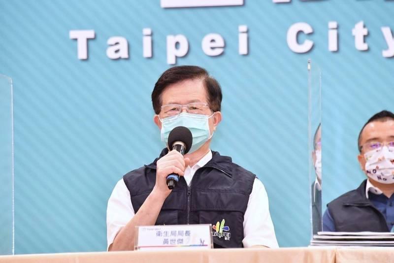 台北市衛生局長黃世傑不捨同仁辛勞表示,主責的疾管科長,每天只睡兩到三小時,其他同仁也不遑多讓。圖/北市府提供