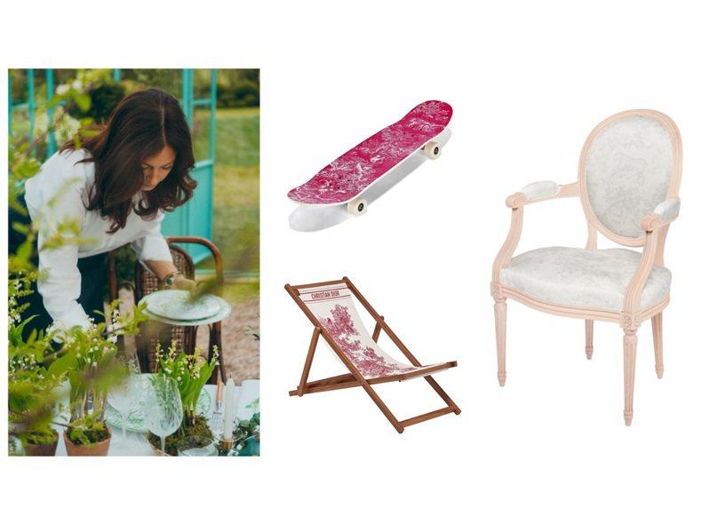 DIOR Maison推出春夏系列新品。圖/DIOR提供