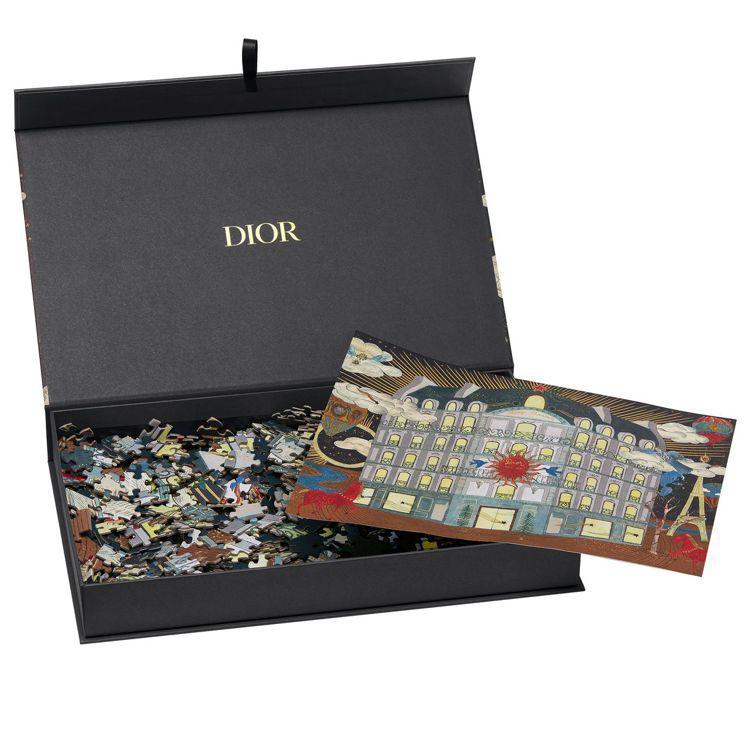 度假系列Dior 30 Montaigne彩色拼圖配色精緻奢華。圖/DIOR提供
