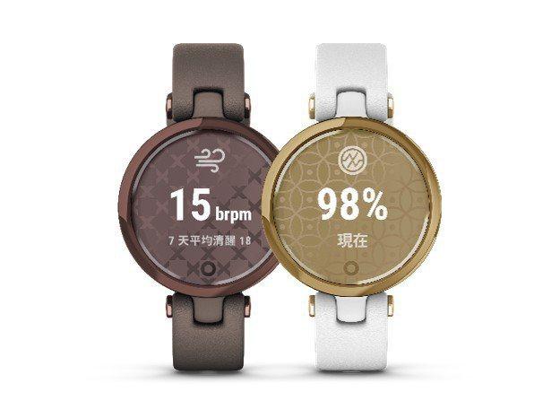 專為女性打造的Garmin LILY智慧腕表系列,建議售價6,990元起。圖/Garmin提供