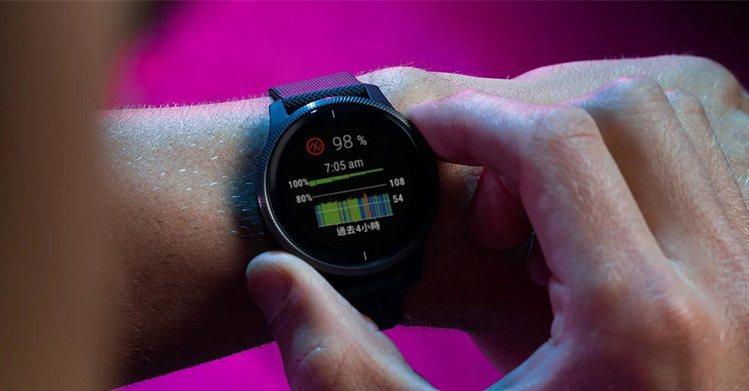 Garmin血氧感測採用「Pulse Ox血氧感測技術」,搭配Garmin精細的...