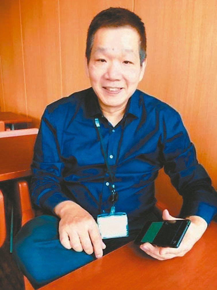 銀領科技執行長陸一平博士分析「銀銅鈦濺鍍口罩」的優勢。圖/銀領科技提供