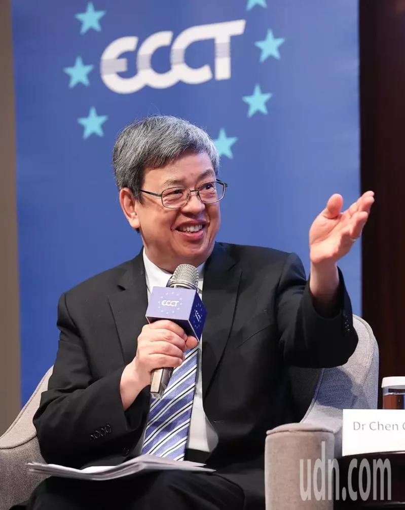 前副總統陳建仁。圖/本報系資料照