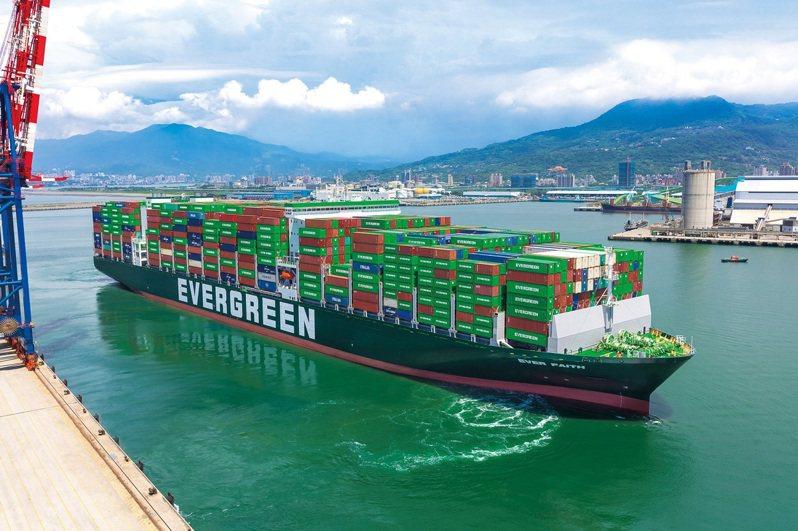 蘇伊士運河塞港影響持續發威,遠東-歐洲線周周漲,近一個月漲幅達25%。(本報系資料庫)