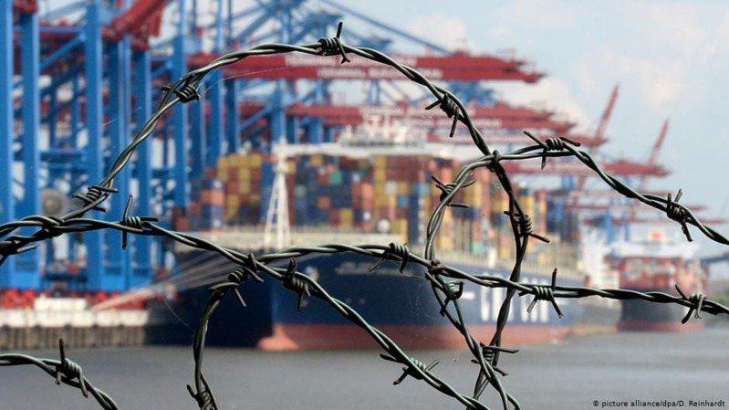 全球貿易格局產生變化的最大一個因素是中國的崛起。圖/德國之聲中文網