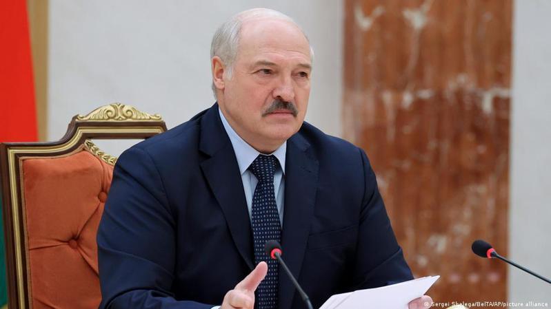白俄總統魯卡申柯。圖/德國之聲中文網