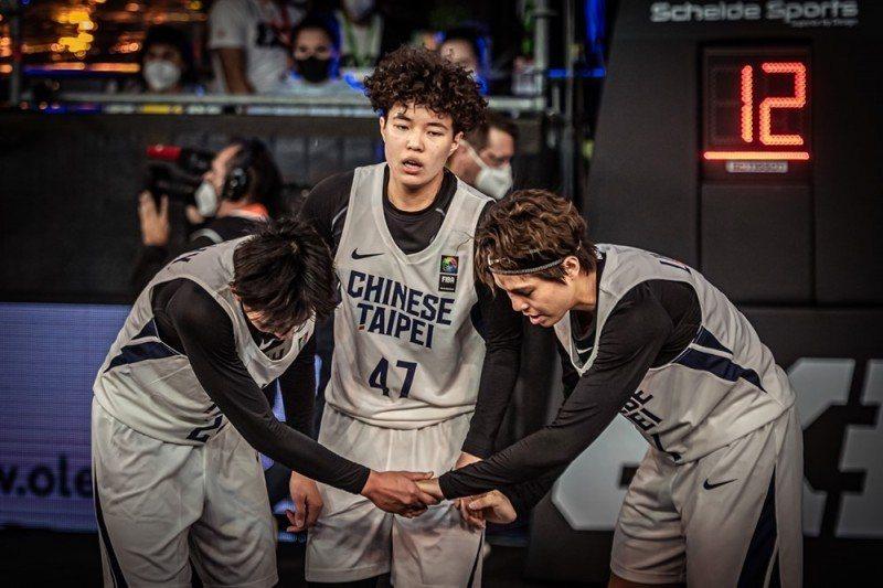 中華女籃只有3個人拚好拚滿,預賽4戰全敗在D組排名墊底,無緣拿下奧運門票。 截圖自FIBA3x3官網