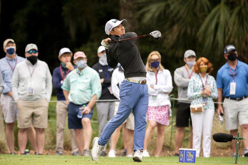 PGA嘉信挑戰賽進入第二輪,台灣高球好手潘政琮今日繳出67(-3)桿的好成績。 美聯社資料照