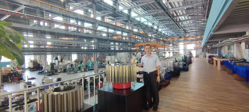 三隆齒輪的現代化科技廠房。 楊鎮州/攝影