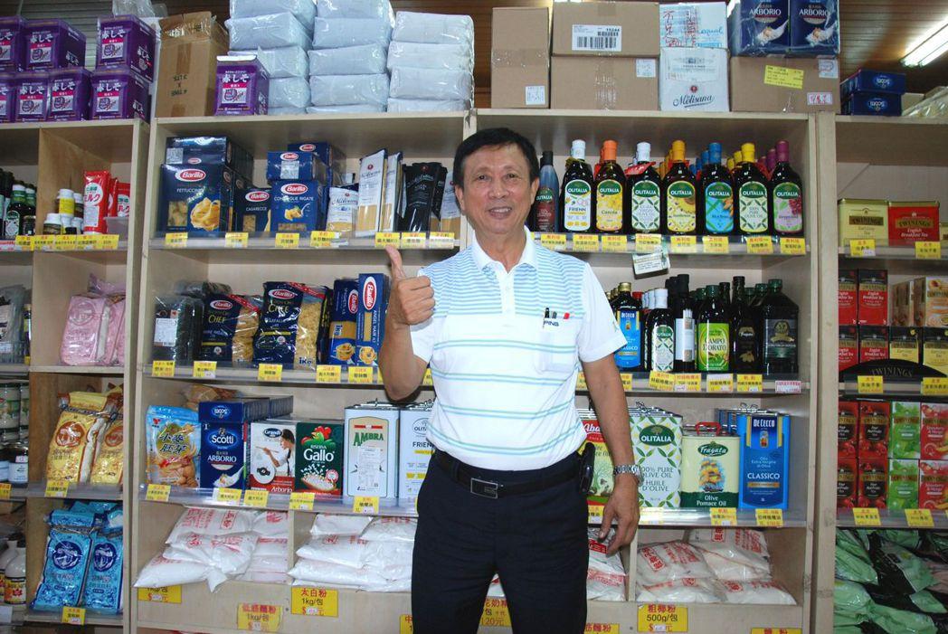 蘇泰平經營事業認真務實,也積極參與社會公益。 楊鎮州/攝影