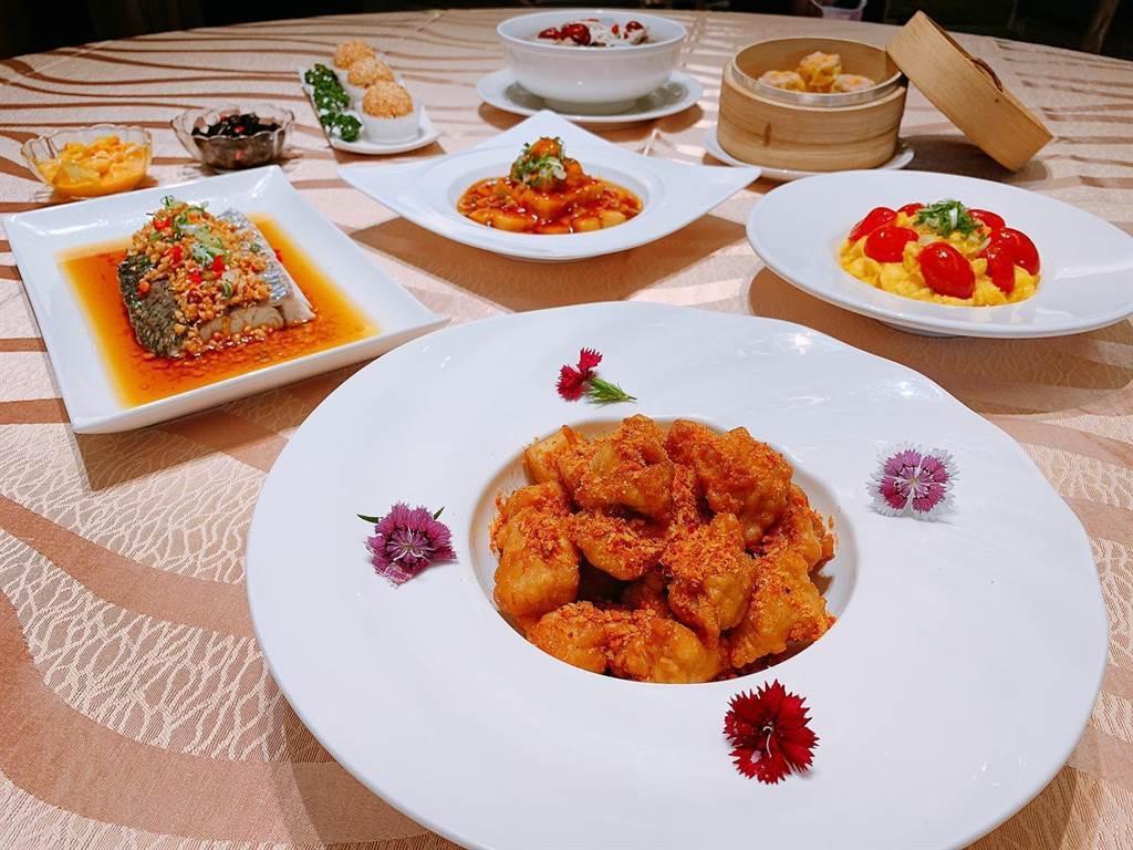 高雄福容飯店推出美味的樂活家庭四人套餐。圖/福容高雄店提供