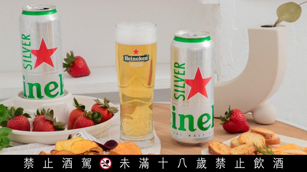 海尼根啤酒近日推出全新口味「Silver星銀啤酒」,以不顯苦味、滑順的全新風味,...