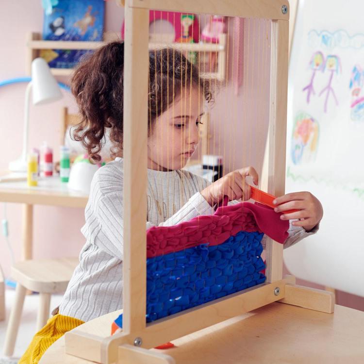 IKEA LUSTIGT織布機玩具7件組/699元。圖/IKEA提供