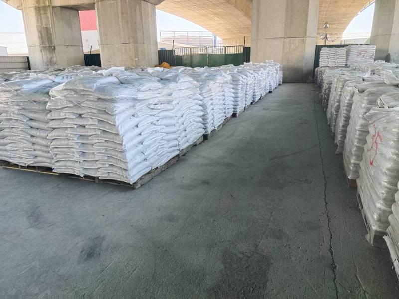 台中市沙包場準備中。圖/台中市水利局提供