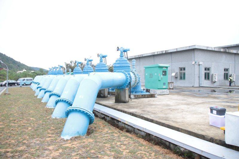 前瞻計畫水環境建設包含北水南調工程,第一段是透過桃園大溪的頂山腳加壓站(圖),把大漢溪水每天調度40萬噸到桃園大湳給水廠。圖/聯合報系資料照片