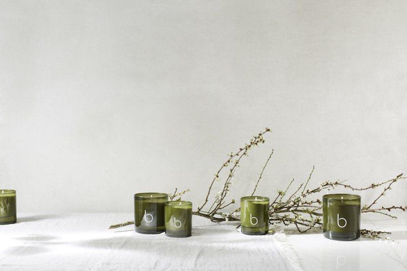Bamford「英式花園香氛」蠟燭系列/300g/2,700元 / 140g/1,350元。圖/10/10 Apothecary提供