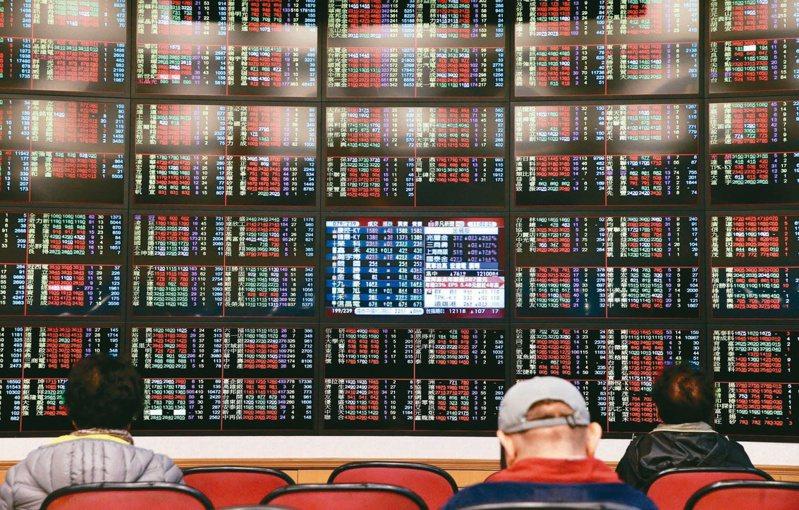 台股2日開高震盪,盤中高低點差達218.24點,終場以17,165.04點作收,上漲2.66點,成交量5,369.76億元;三大法人賣超75.25億元。 本報系資料庫