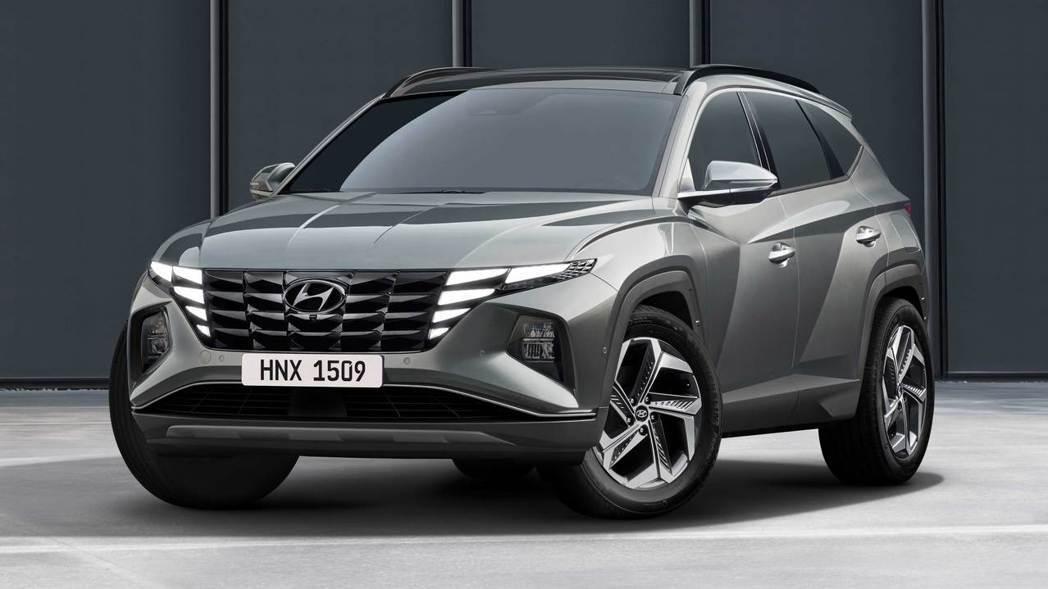 Hyundai Tucson大改款車型。 圖/Hyundai提供