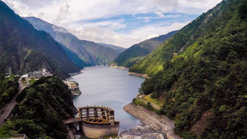 圖為德基水庫。 聯合報系資料照片/記者王騰毅攝影