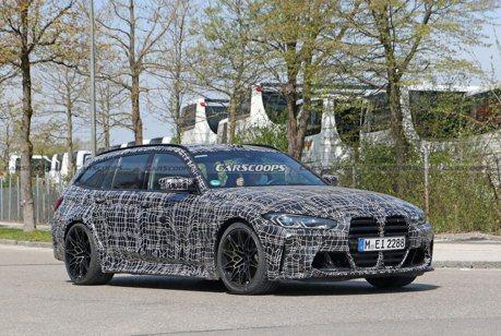 性能碗公準備中 全新BMW M3 Touring偽裝車慕尼黑街道再現!